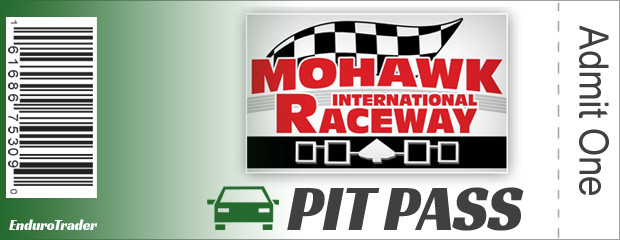 Mohawk International Speedway Pit Pass
