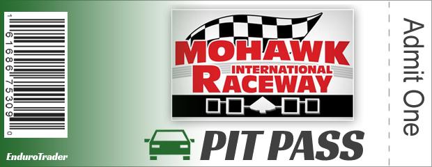 Mohawk International Speedway Pit Pass